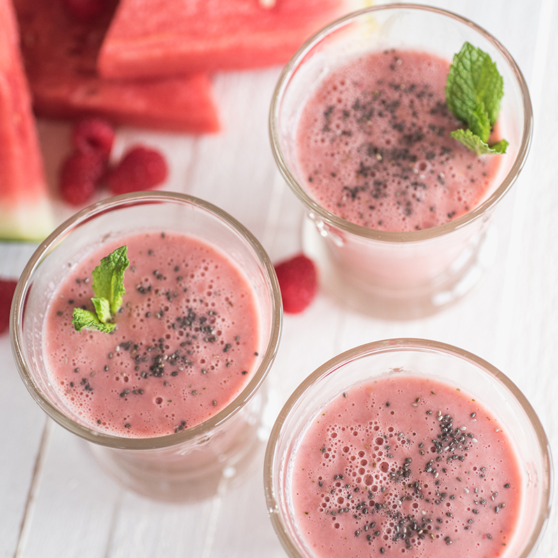 Watermelon Chia Smoothie