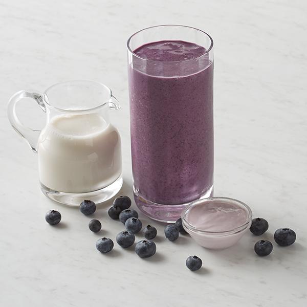 Bananas for Blueberries Smoothie