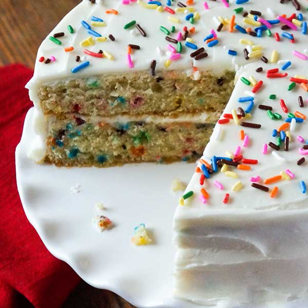 Recipe - Buttermilk Confetti Cake