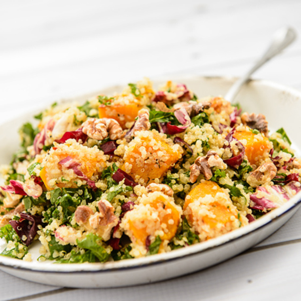 Warm Butternut Squash and Quinoa Salad