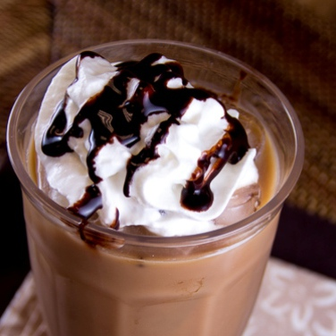 Caramel Mocha Iced Coffee for Personal Brewer