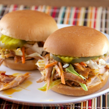 Slow Cooker Chipotle Turkey Barbecue