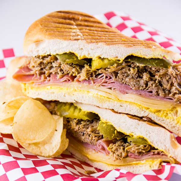Recipe - Slow Cooker Cuban-Style Shredded Pork Panini