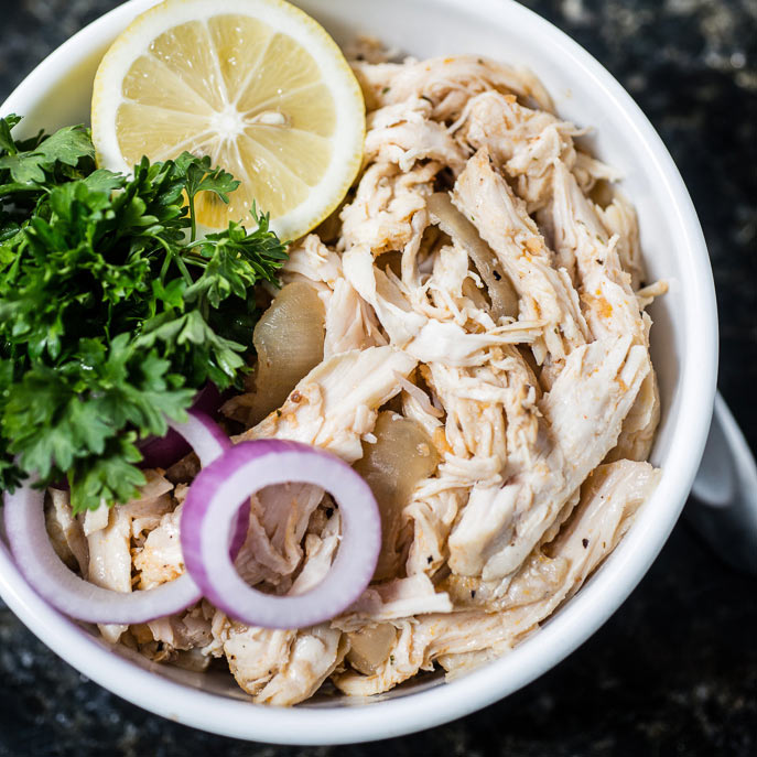 Slow cooker basic shredded chicken hamiltonbeach slow cooker basic shredded chicken forumfinder Image collections
