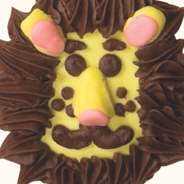Friendly Lion Cupcakes