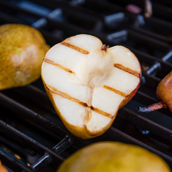 Grilled Amaretto Pears