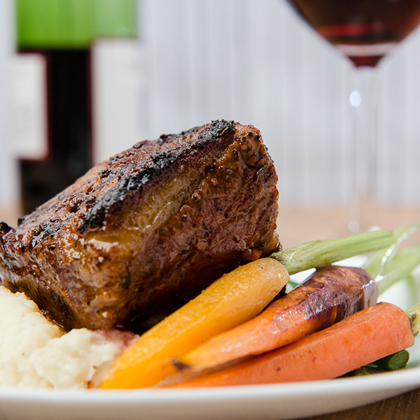 Smoky Grilled Beef Short Ribs