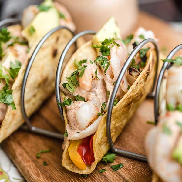 Recipe - Grilled Tequila Lime Shrimp Tacos