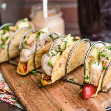 Grilled Tequila Lime Shrimp Tacos