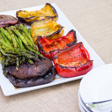 Grilled Vegetables with Balsamic Marinade