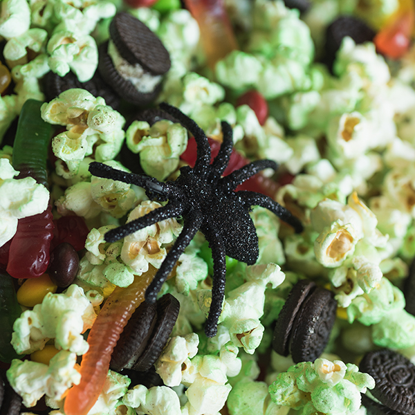 Witches' Brew Popcorn Mix
