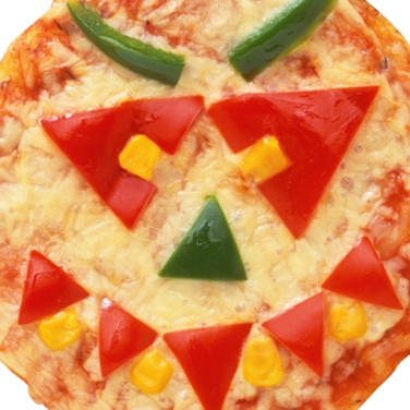 Halloween Party Pizzas