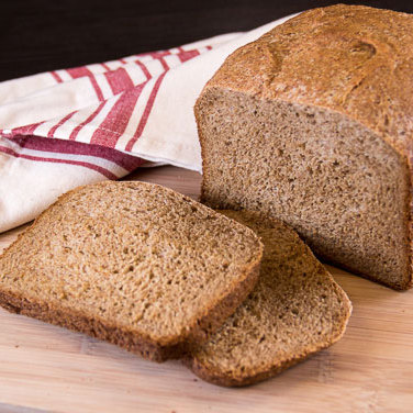 High-Fiber Bran Loaf for 1.5 lb Breadmaker