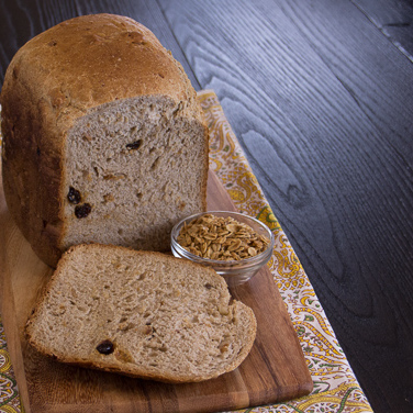 Honey Granola Bread for 2-lb. Loaf Breadmaker