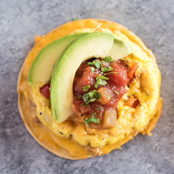 Breakfast Sandwich Maker Huevos Rancheros