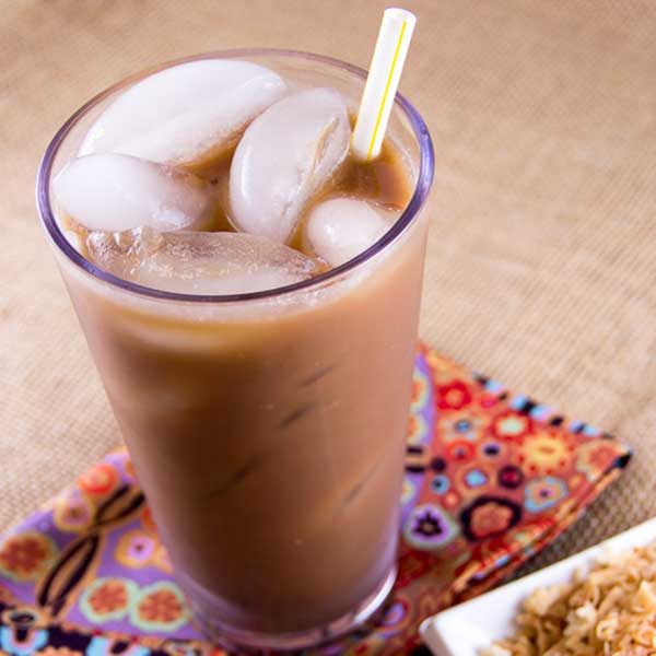 Coconut Almond Iced Coffee for Personal Brewer