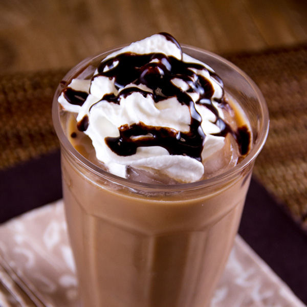 Caramel Mocha Iced Coffee