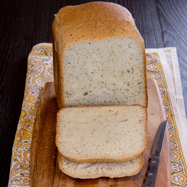 Italian Parmesan Bread for 1.5-lb. Loaf Breadmaker