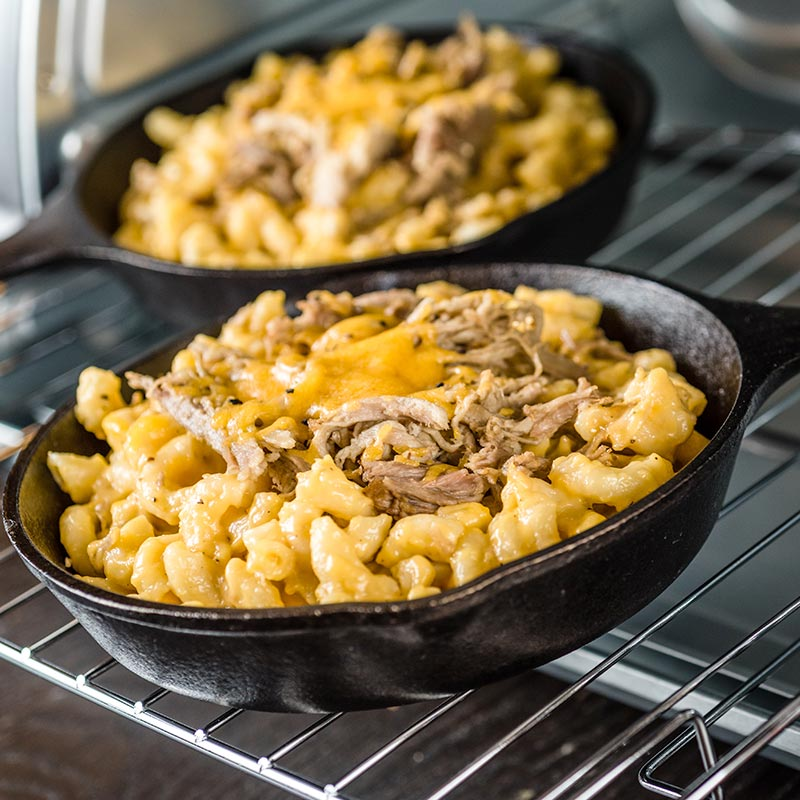Pulled Pork Macaroni and Cheese