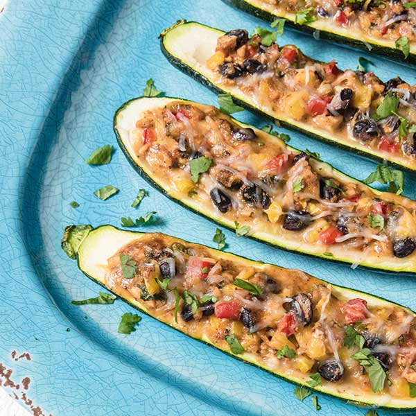 Recipe - Mexican Zucchini Boats
