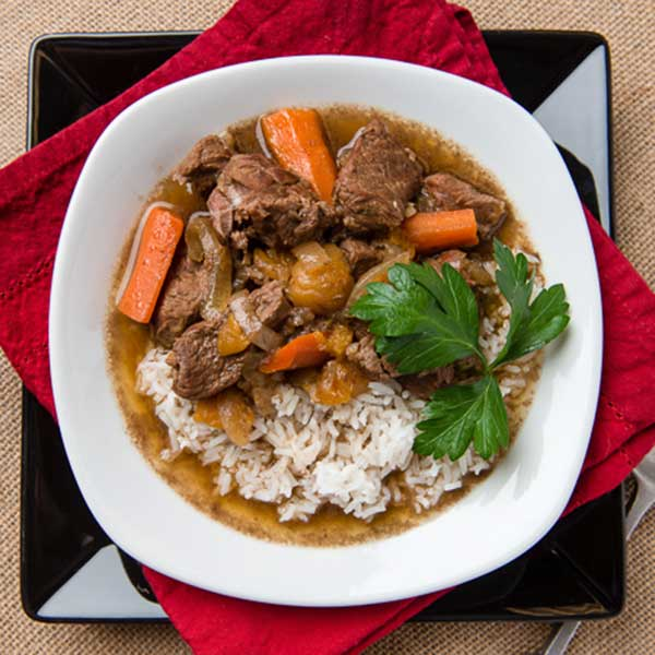 Slow Cooker Moroccan Spiced Lamb Stew