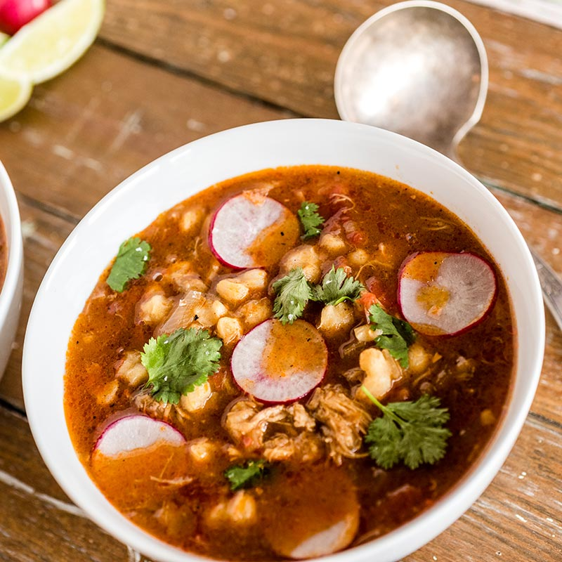 Multi-Cooker Pork Pozole Rojo