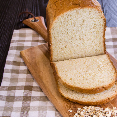Oatmeal-Buttermilk Bread for 1.5-lb. Loaf Breadmaker
