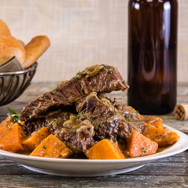 Slow Cooker Oktoberfest Pot Roast