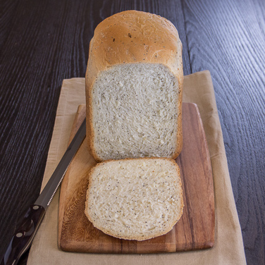 Onion Poppy Seed Bread for 2-lb Breadmaker
