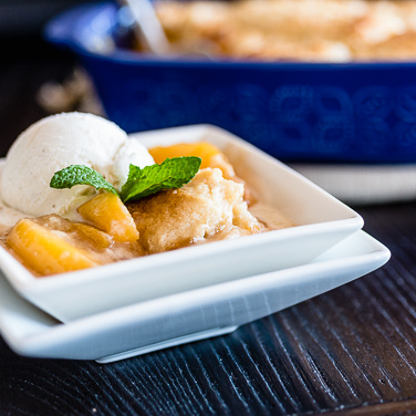 Recipe - Peach Cobbler