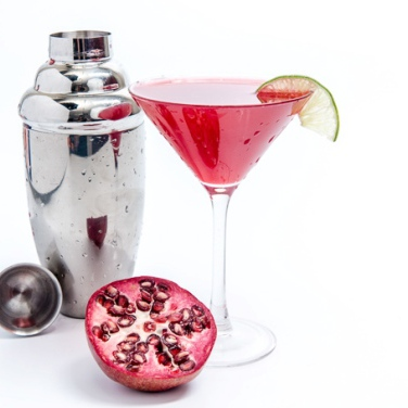 Pomegranate Ginger Martini