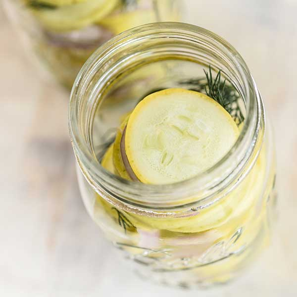 Quick and Easy Dill Pickles