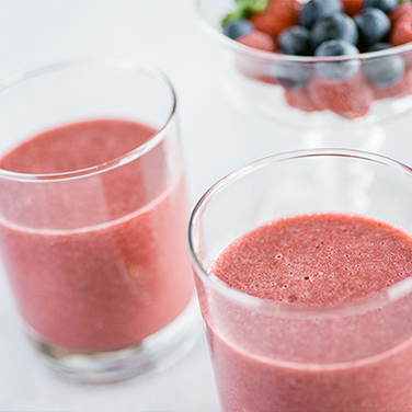 Revitalizing Berry Juice