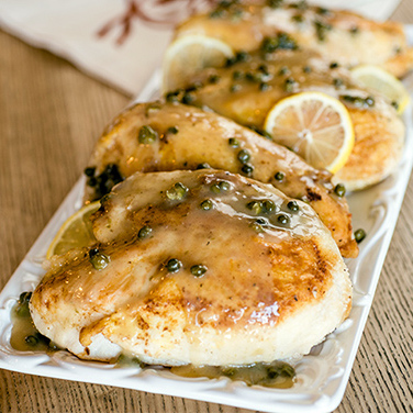 Slow Cooker Chicken Piccata