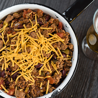 Slow Cooker Gridiron Chili