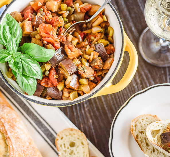 Recipe - Slow Cooker Eggplant Caponata