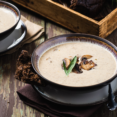 Slow Cooker Cream of Mushroom Soup