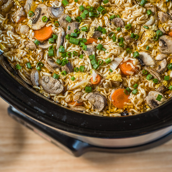 Slow Cooker Ramen Soup with Pork