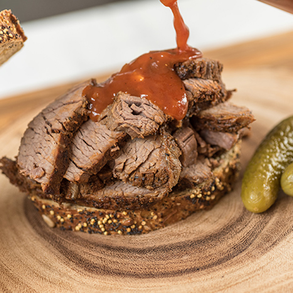 Slow Cooker Texas-Style BBQ Brisket