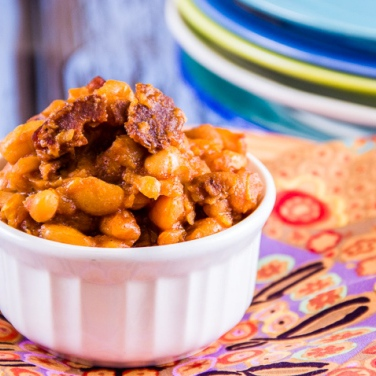 Recipe - Slow Cooker Baked Beans