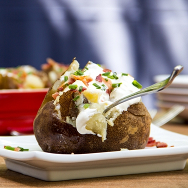 Slow Cooker Baked Potatoes