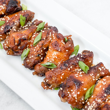 Slow Cooker Korean-Style Chicken Wings