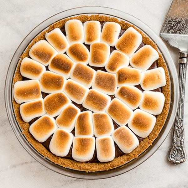 Recipe - S'mores Pie