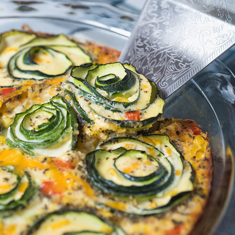 Recipe - Zucchini Corn Pie