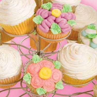 Recipe - Spring Bloom Cupcakes