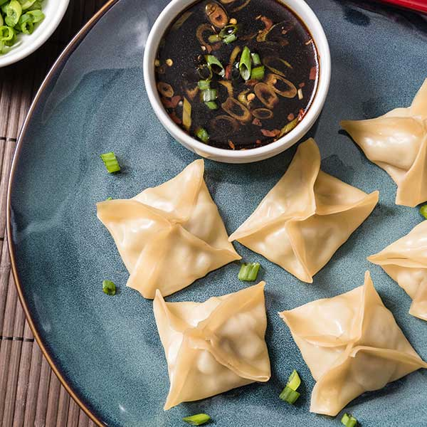 Rice Cooker Steamed Dumplings
