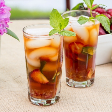 Strawberry Mint Iced Tea