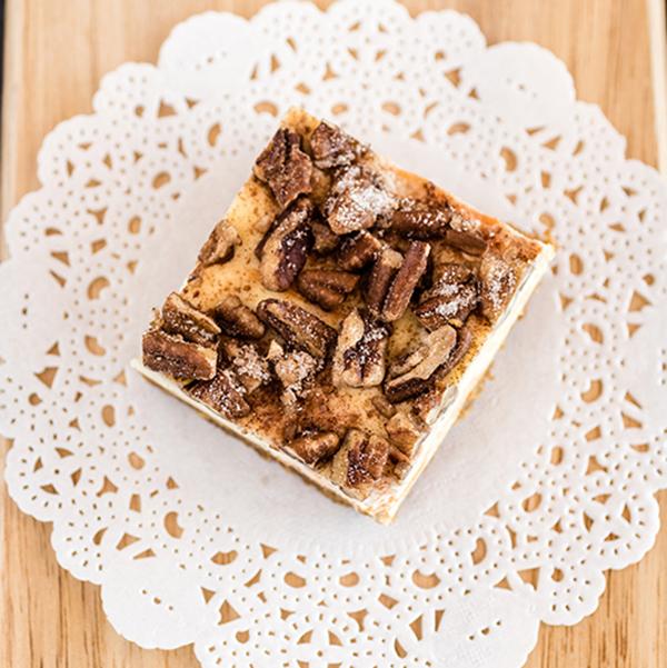 Spiralized Sweet Potato Cheesecake Bars - HamiltonBeach.com