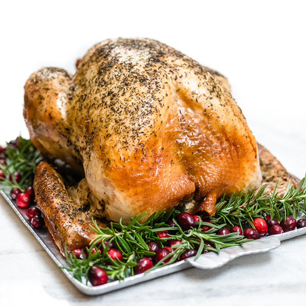 roasted turkey on a plate