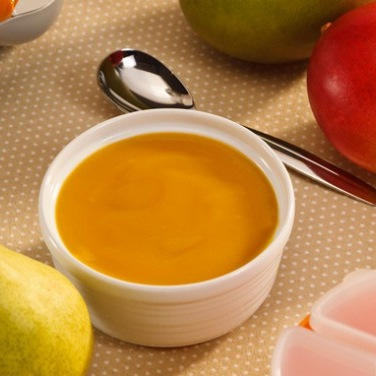 Recipe - Baby Food Mango Mash